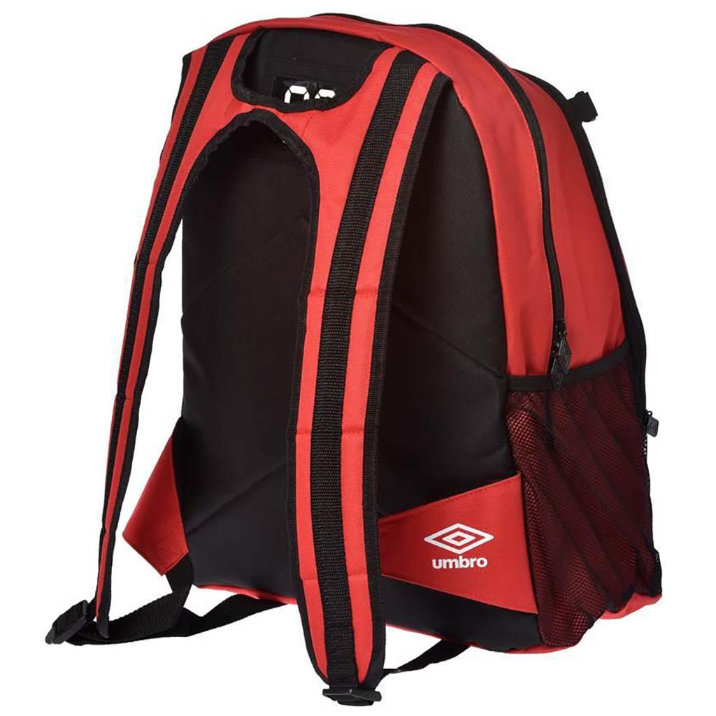 Umbro backpack 17 sac à dos de soccer rouge arriere