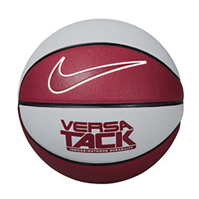 Ballon de basket Nike Versa Tack 8P pure platinum black white team red