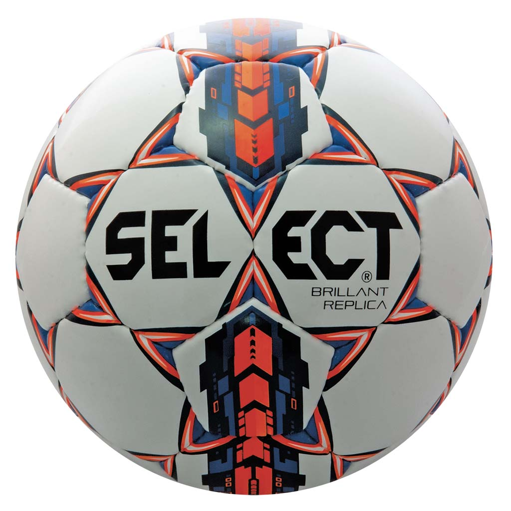 Select Brillant Super Replica ballon de soccer blanc