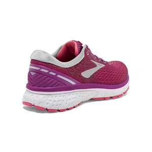 Brooks Ghost 11 chaussure de course a pied pour femme aster rose argent rv