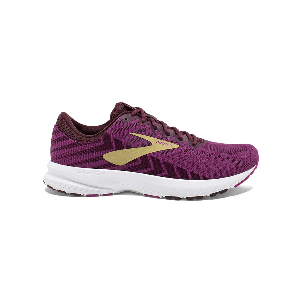 Brooks Launch 6 chaussure de course a pied pour femme aster figue or