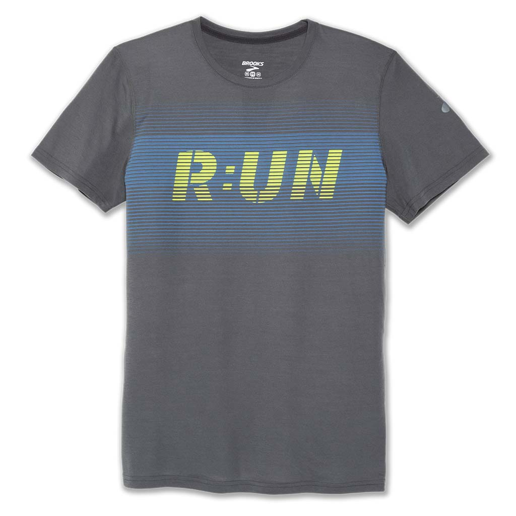 Brooks Distance Run T-shirt sport de course a pied homme