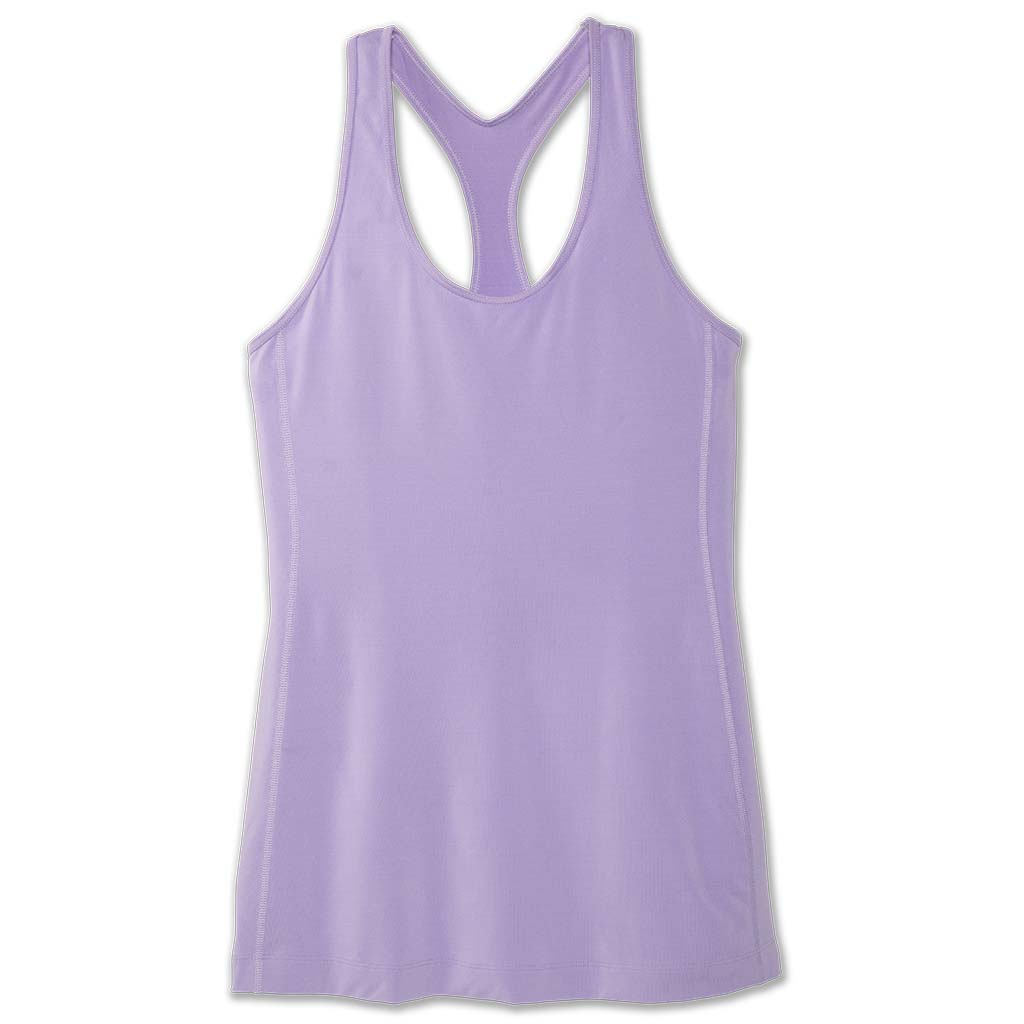 Brooks Pick-Up Tank Top camisole de course à pied sans manches femme lilas