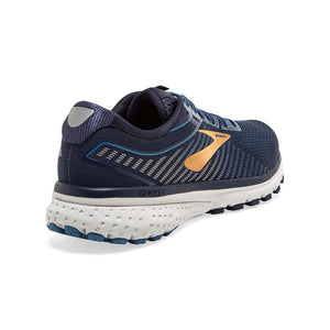 Brooks Ghost 12 chaussures de course homme bleu or rv
