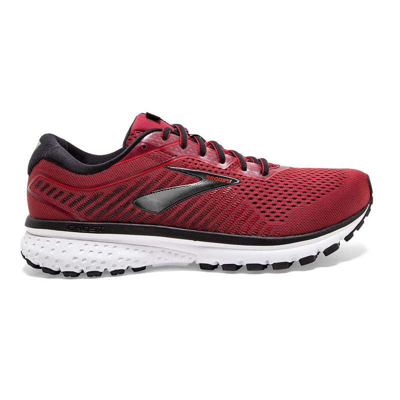 Brooks Ghost 12 chaussures de course homme rouge