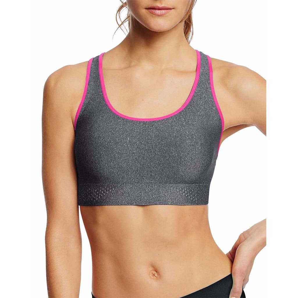 Soutien-gorge sport Champion The Absolute Shape granite heather pinksicle