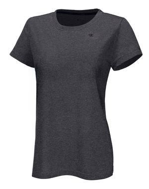 T-Shirt sport femme Champion Power Train Heather gris avant