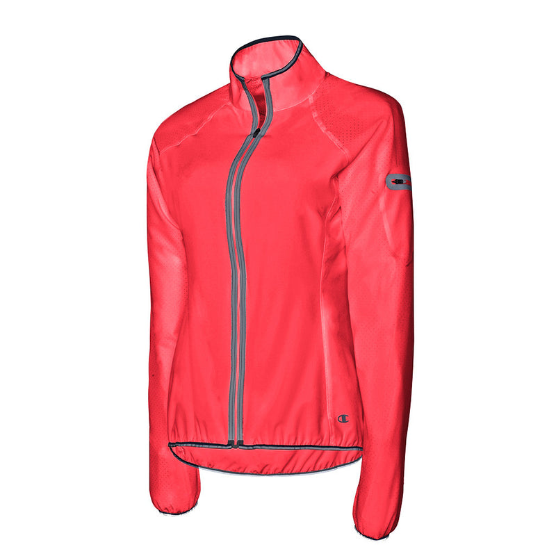 Champion Run veste de course à pied femme rose rv
