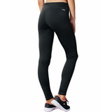 Pantalon legging sport femme Champion Tech Fleece noir vue dos Soccer Sport Fitness