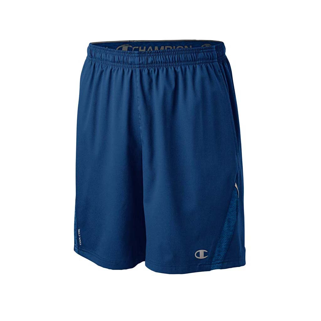 Champion Short 9'' Run homme bleu