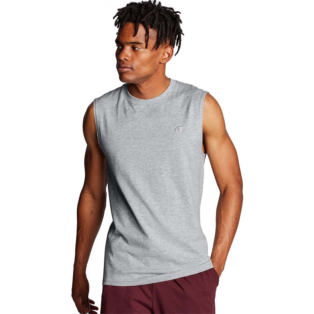 Champion T-shirt Muscle Tee oxford grey lv1