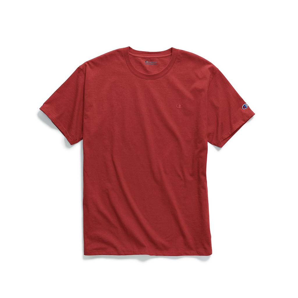 Champion Classic Jersey T-shirt pour homme scarlet