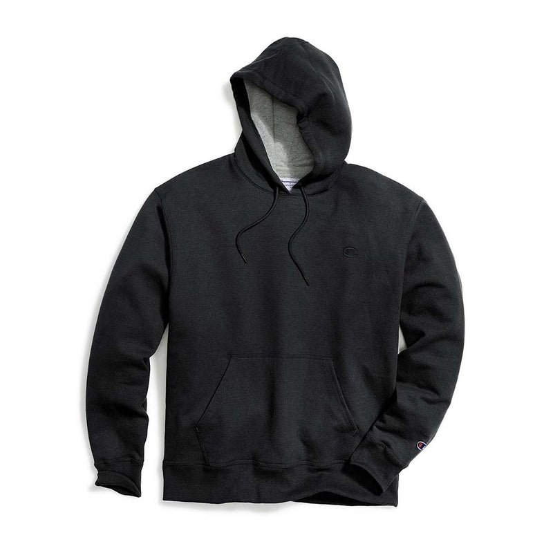 Chandail Champion Powerblend Hoodie noir pour homme