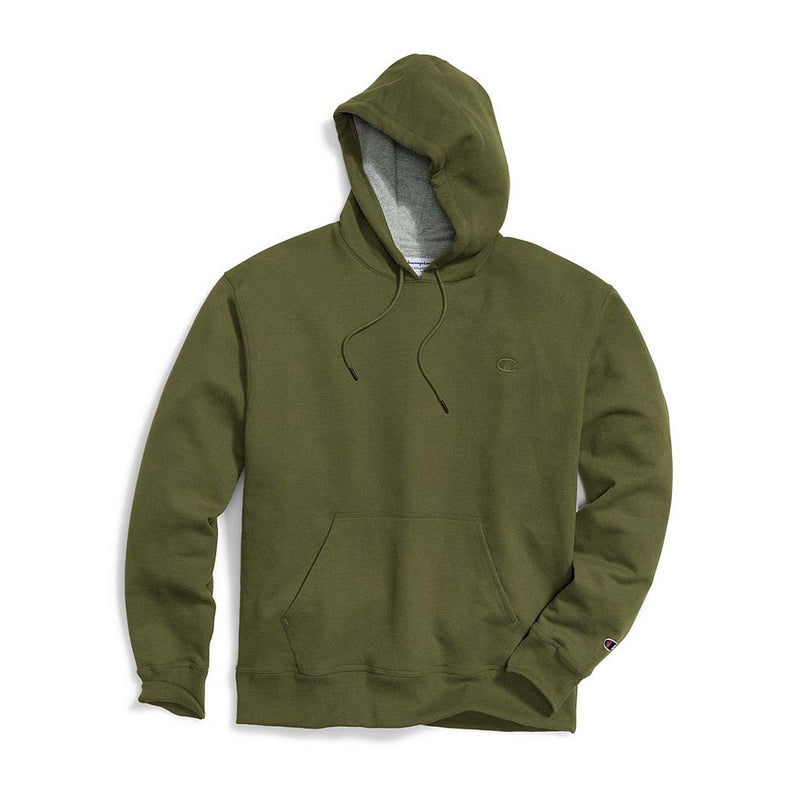 Chandail Champion Powerblend Hoodie cargo olive pour homme