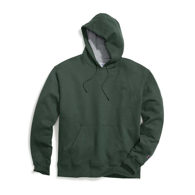 Chandail Champion Powerblend Hoodie vert fonce pour homme