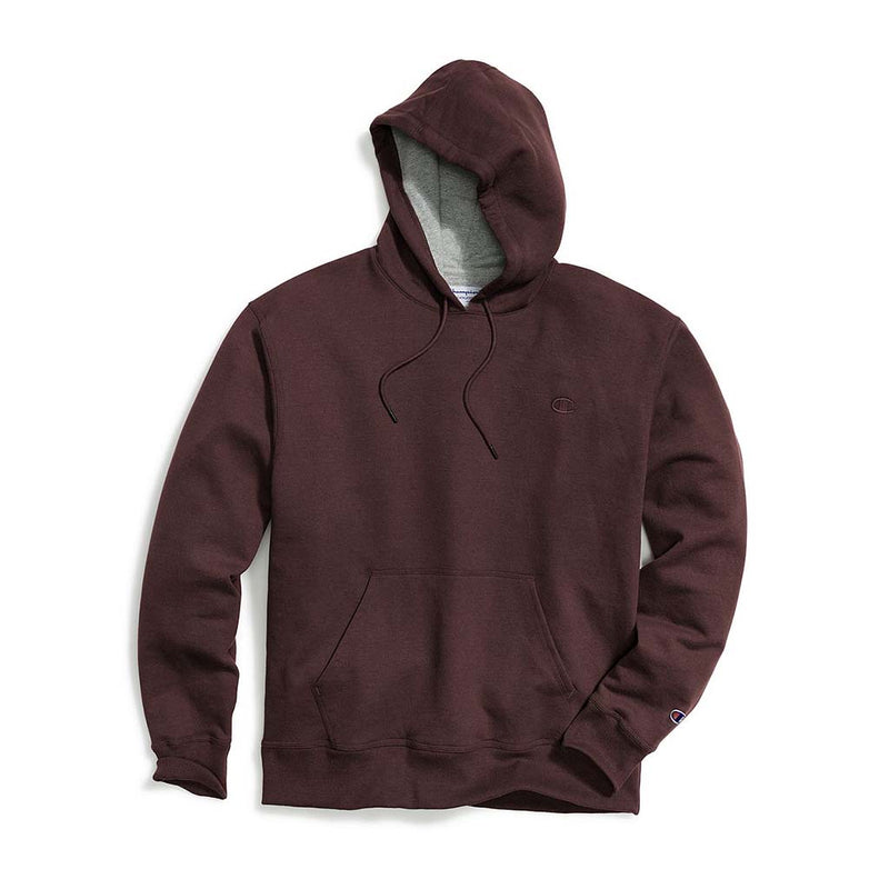 Chandail Champion Powerblend Hoodie Maroon pour homme