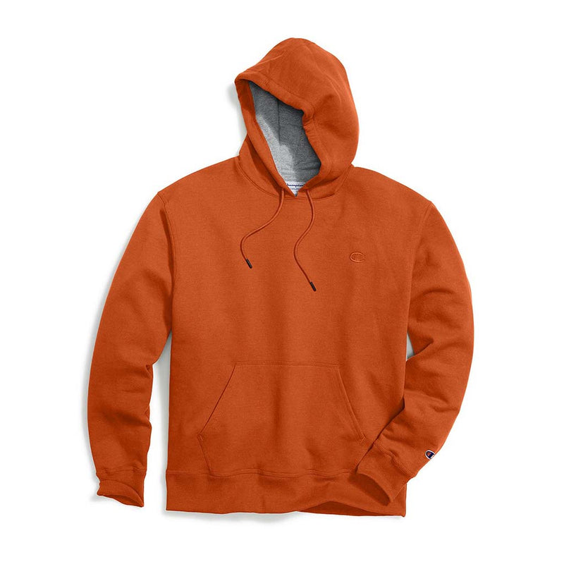 Chandail Champion Powerblend Hoodie orange pour homme