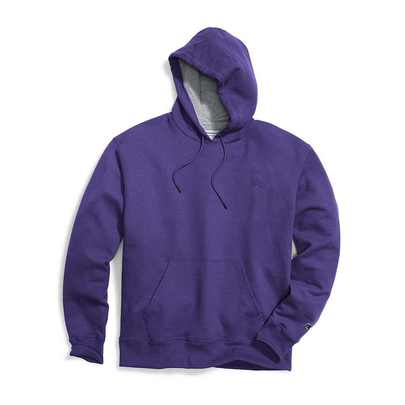 Chandail Champion Powerblend Hoodie Purple pour homme