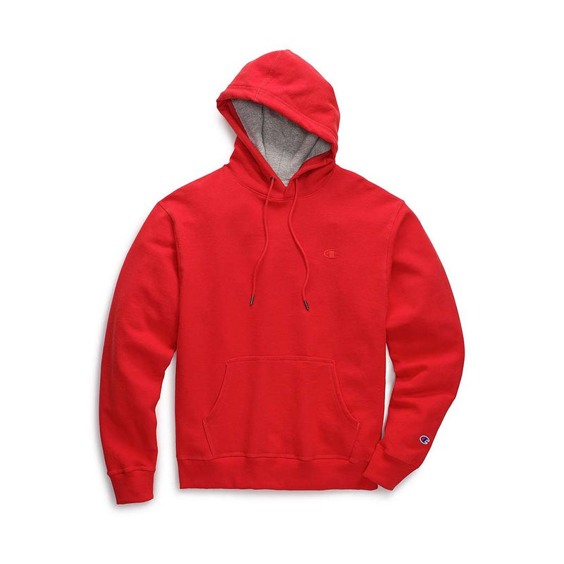 Chandail Champion Powerblend Hoodie rouge pour homme
