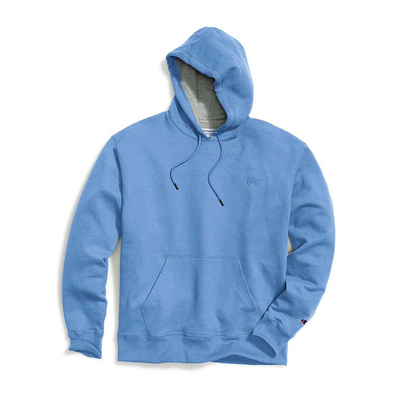 Chandail Champion Powerblend Hoodie Swiss Blue pour homme