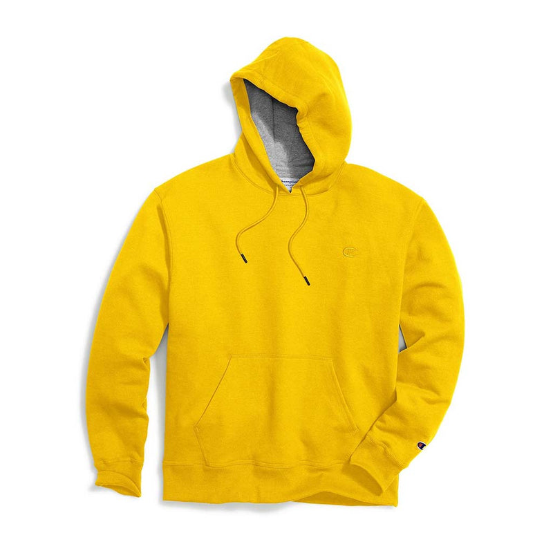 Chandail Champion Powerblend Hoodie Team Gold pour homme