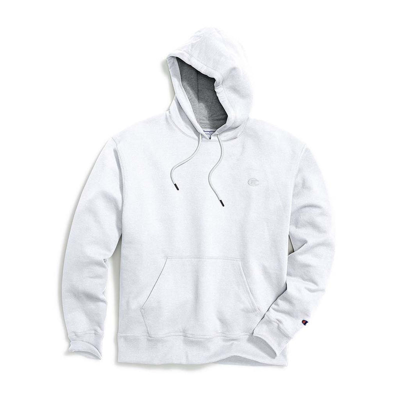 Chandail Champion Powerblend Hoodie blanc pour homme