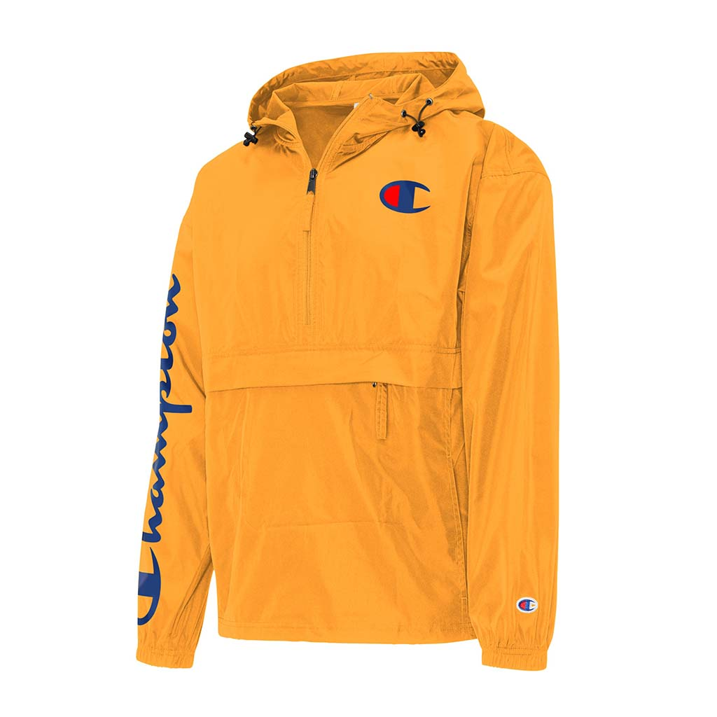 Champion Packable C Logo Jacket team gold
