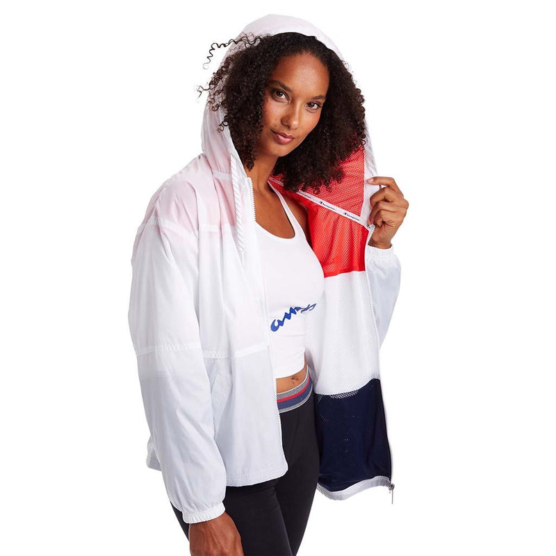 Champion veste coupe-vent Stadium Colorblocked pour femme lv