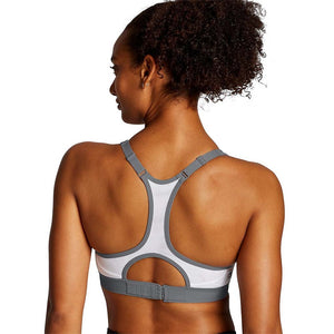 Champion The Absolute Zip Sports Bra white lv2