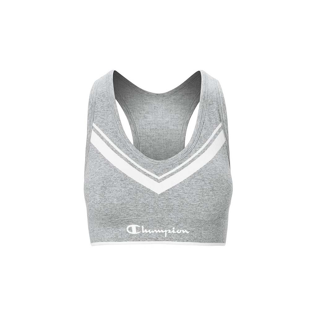 Champion The Sweatshirt Chevron Racerback Sports Bra athletic navy