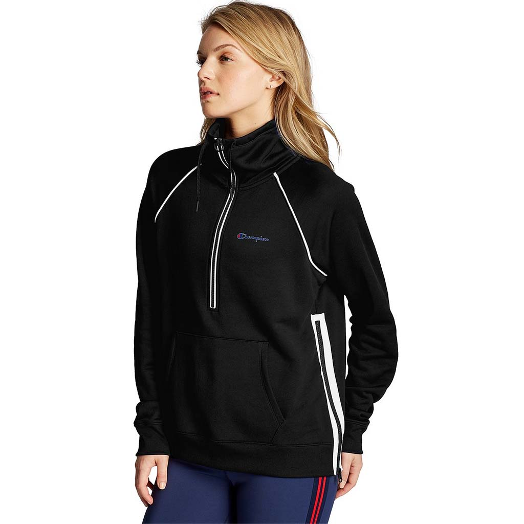 Champion Women's Half Zip Pullover black lv2