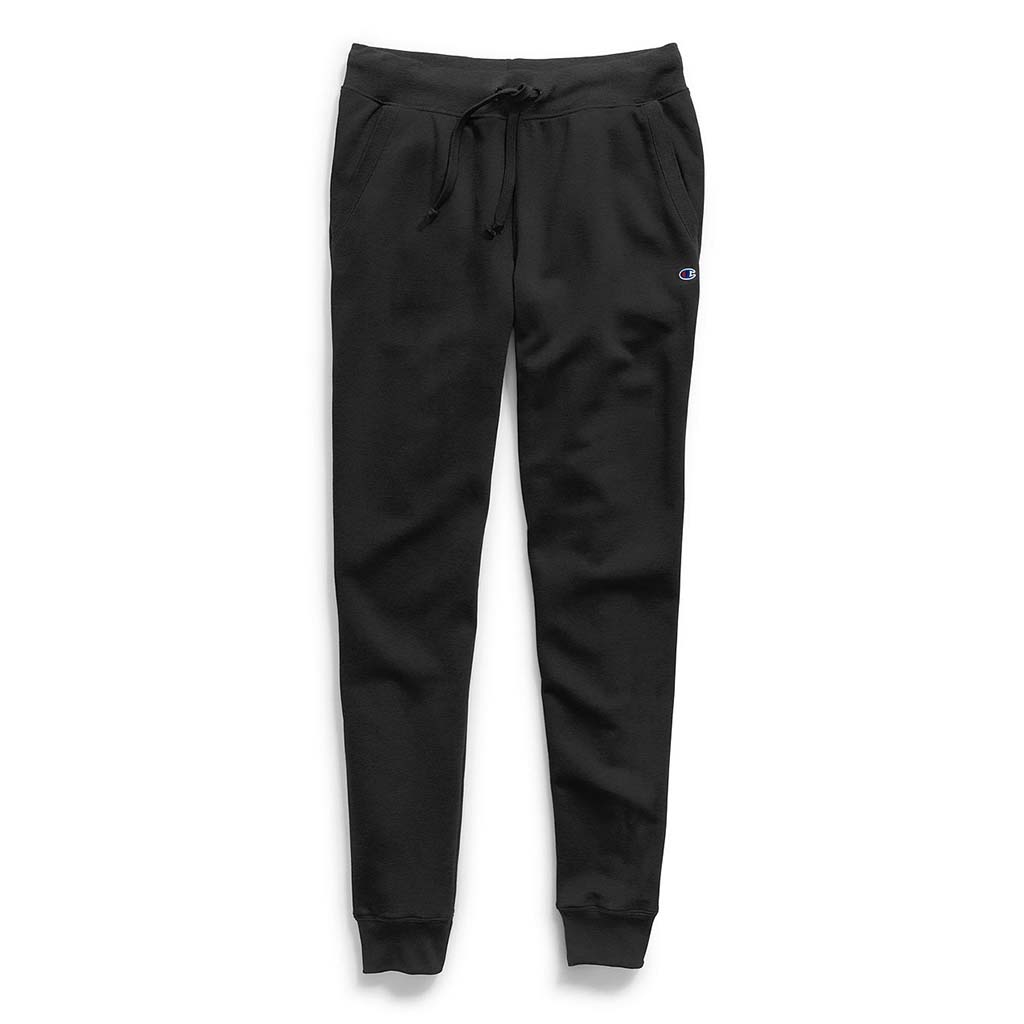 Champion Women's Powerblend Fleece Jogger black