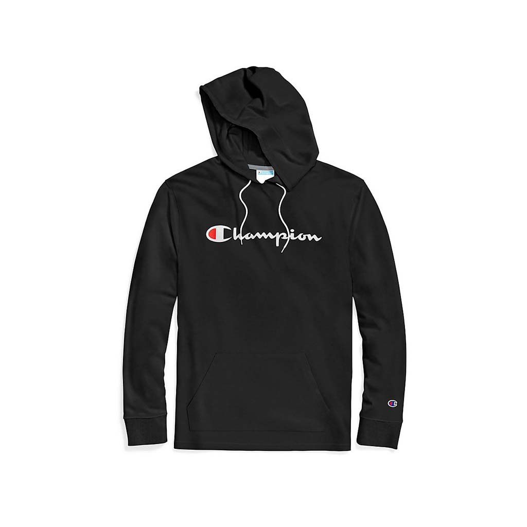 Champion Middleweight Jersey Hoodie noir