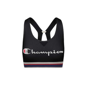 Champion The Authentic Sports Bra Distressed Logo black
