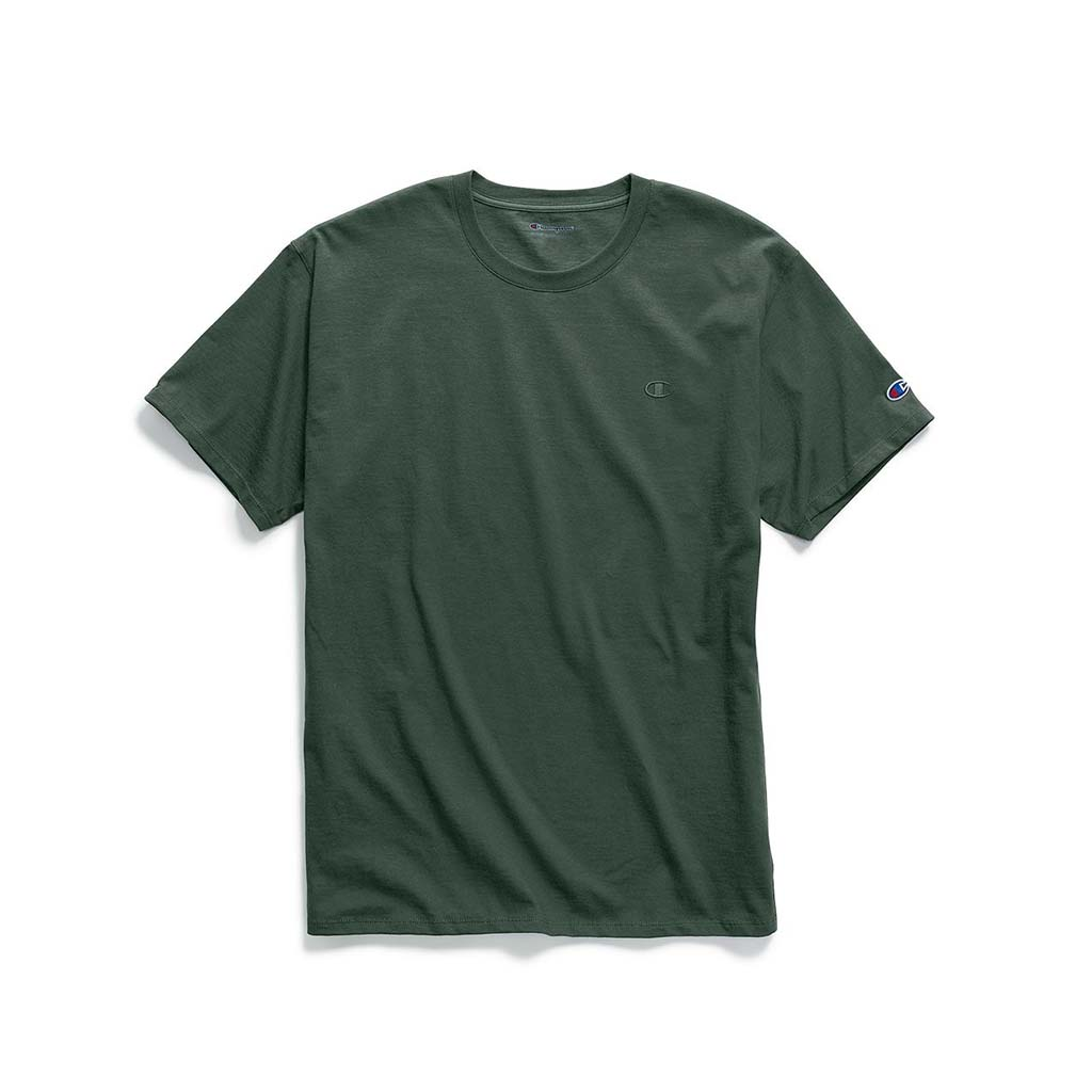 Champion Classic Jersey T-shirt pour homme dark green
