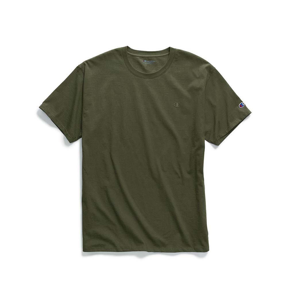 Champion Classic Jersey T-shirt pour homme hiker green