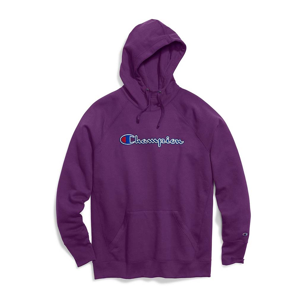 Champion Powerblend hoodie en molleton pour femme berry purple