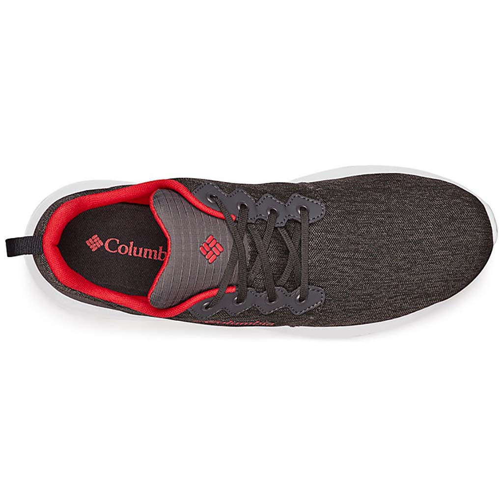 Columbia Backpedal Outdry mens shoes shark mountain red uv