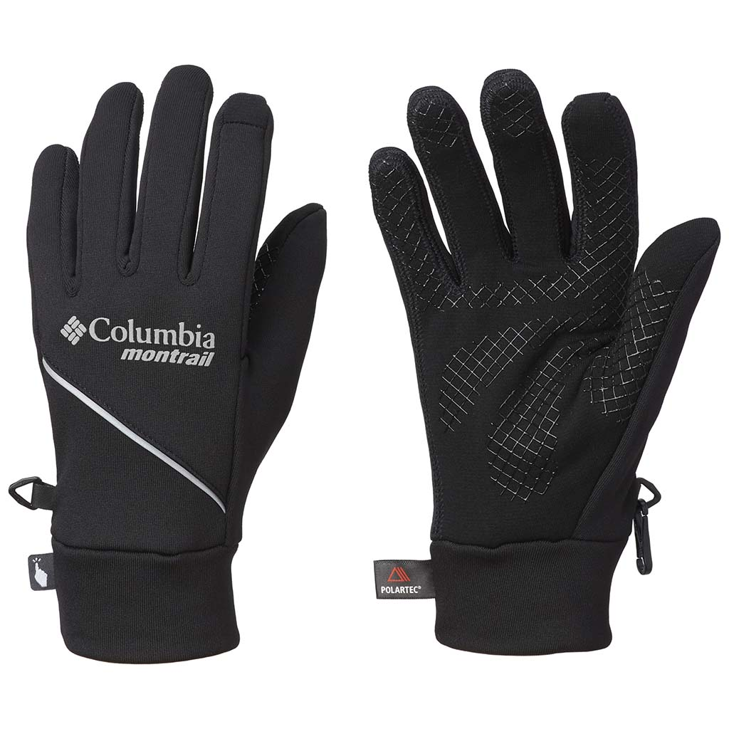Columbia Caldorado mens running gloves black