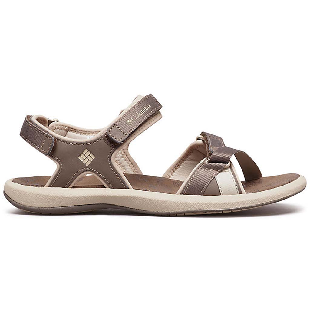 Columbia Kyra III womens sandals mud ancient fossil