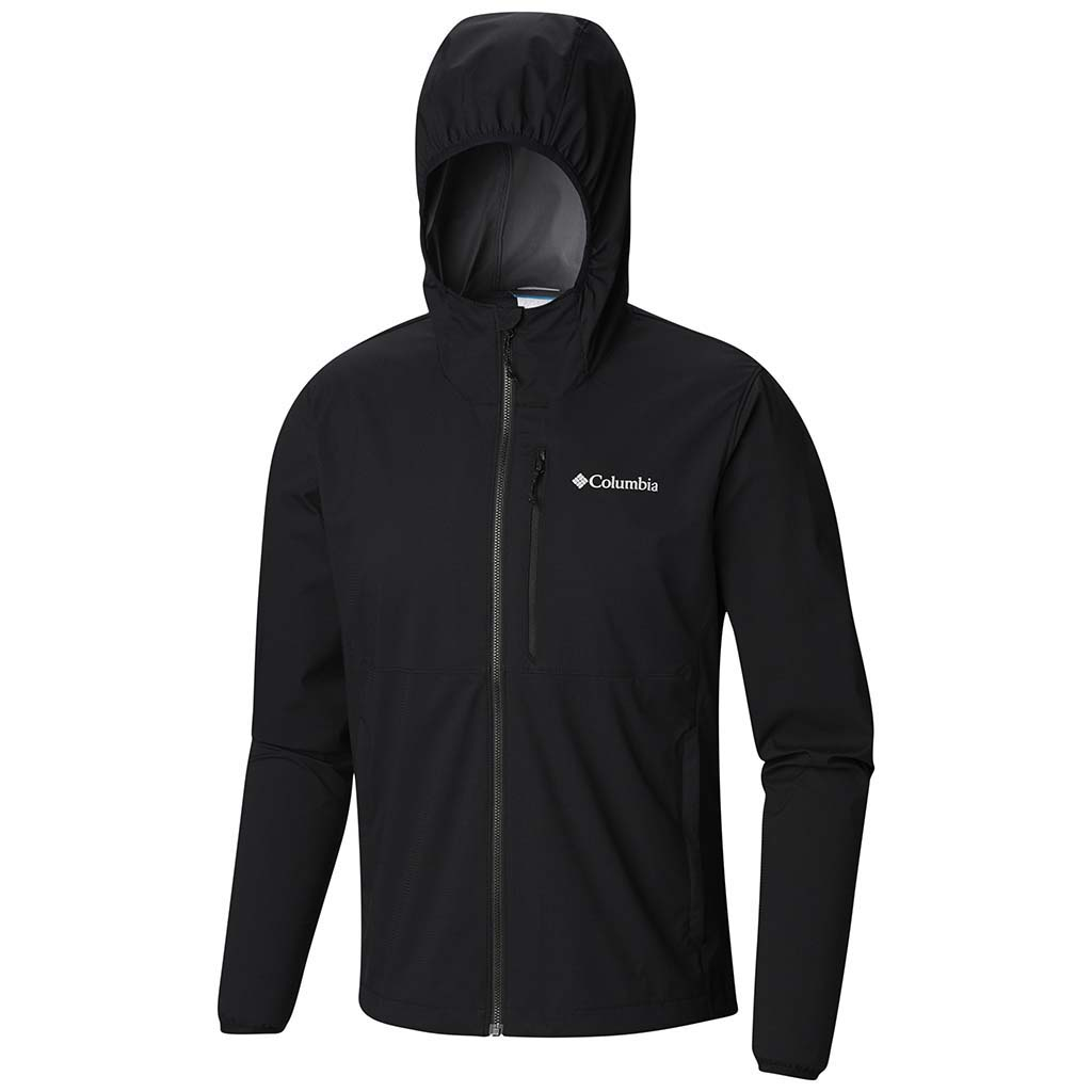 Columbia mystic windbeaker jacket men black 2