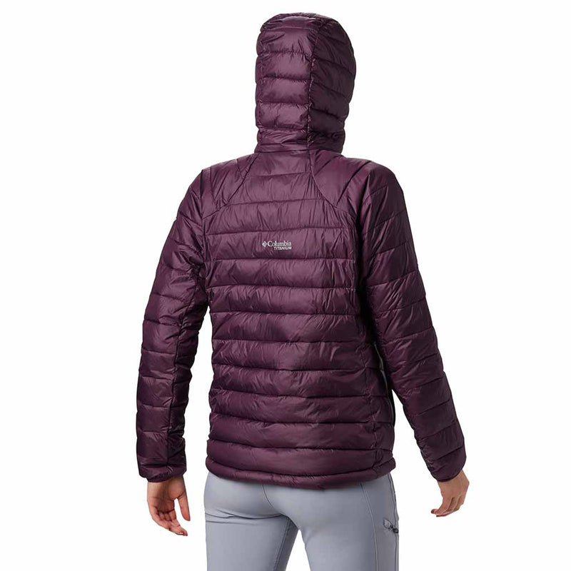 Columbia Snow Country manteau d'hiver sport pour femme black cherry lv rv