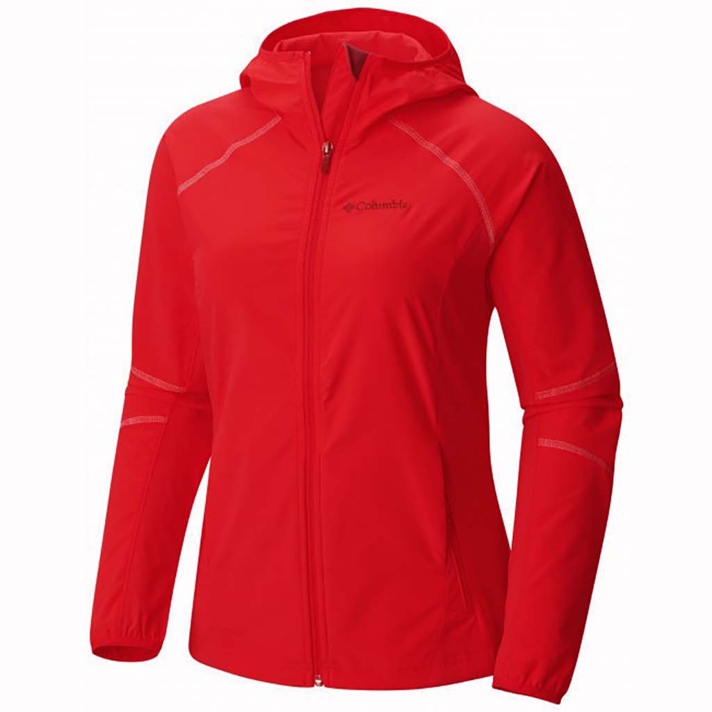 Columbia Sweet As Softshell jacket women cherrybomb
