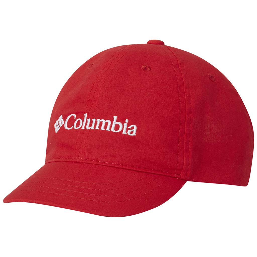 Columbia youth baseball cap bright red