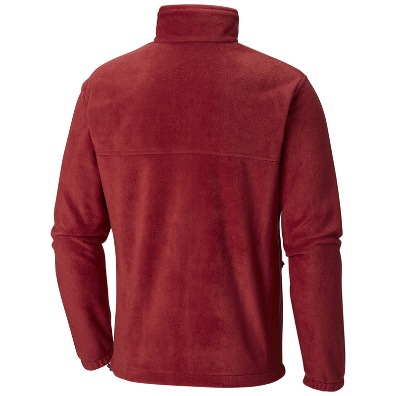 Columbia Steens Mountain full zip 2.0 veste laine polaire homme rouge rv