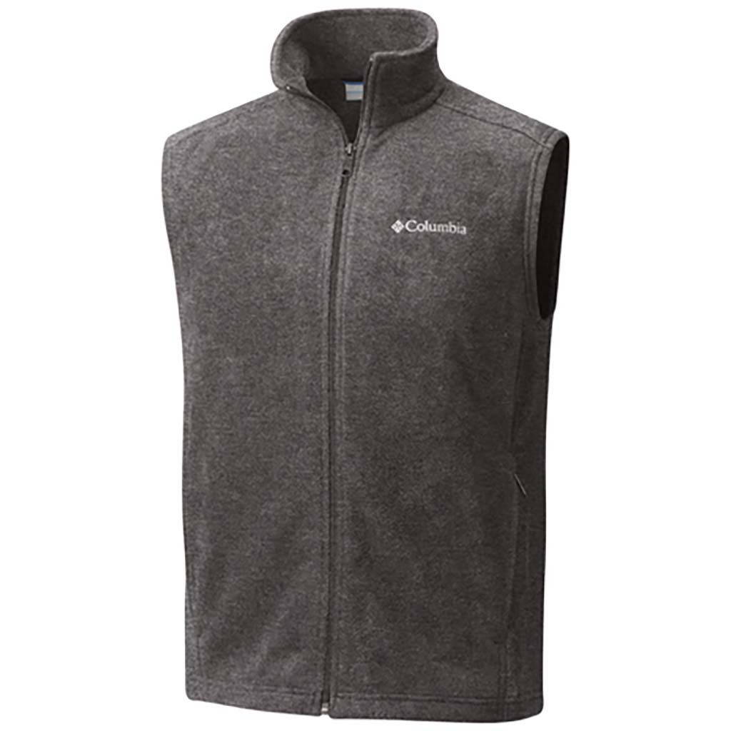 Columbia Steens Mountain veste sans manches polaire homme charcoal