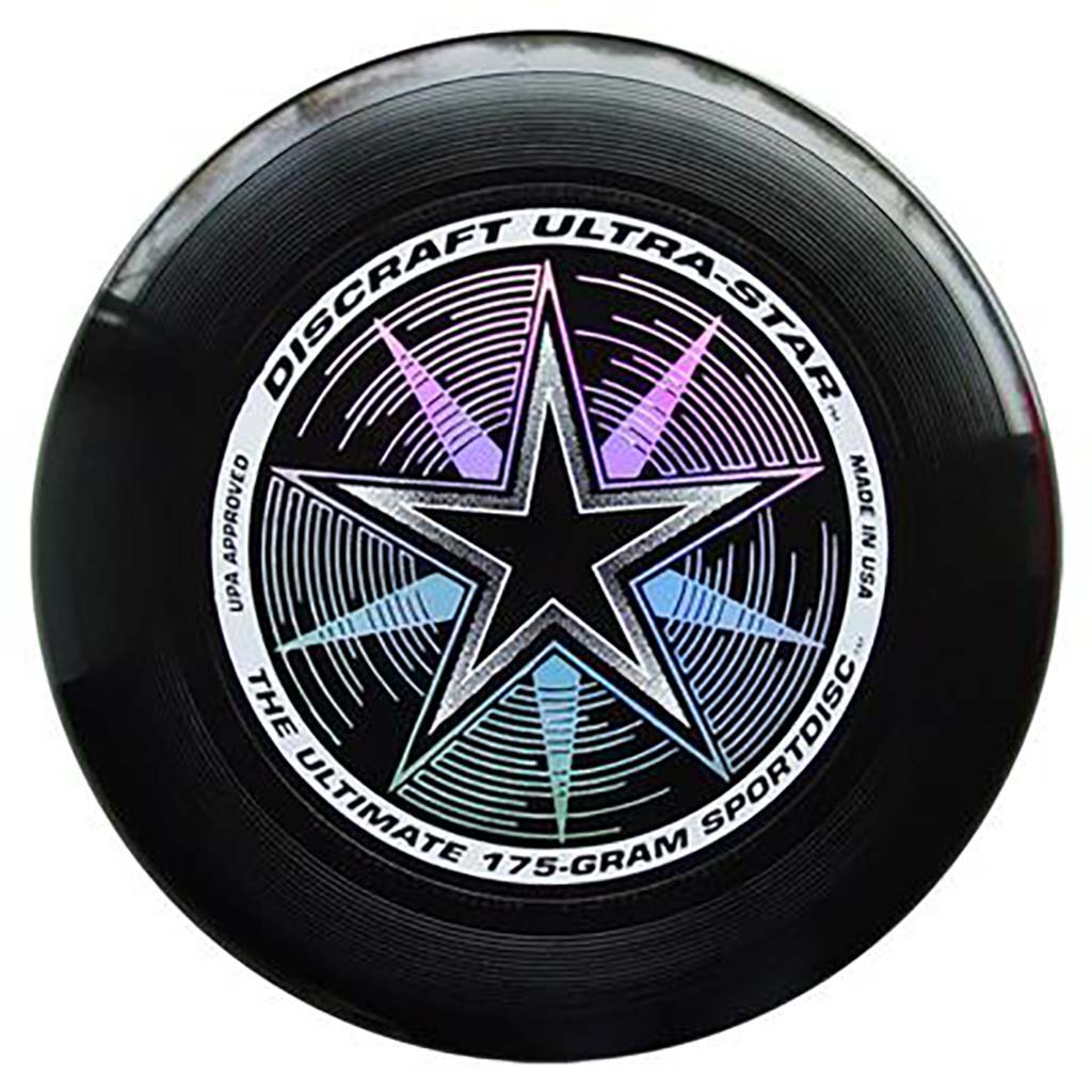 Disque Ultimate frisbee noir Discraft Ultra-Star 175 g