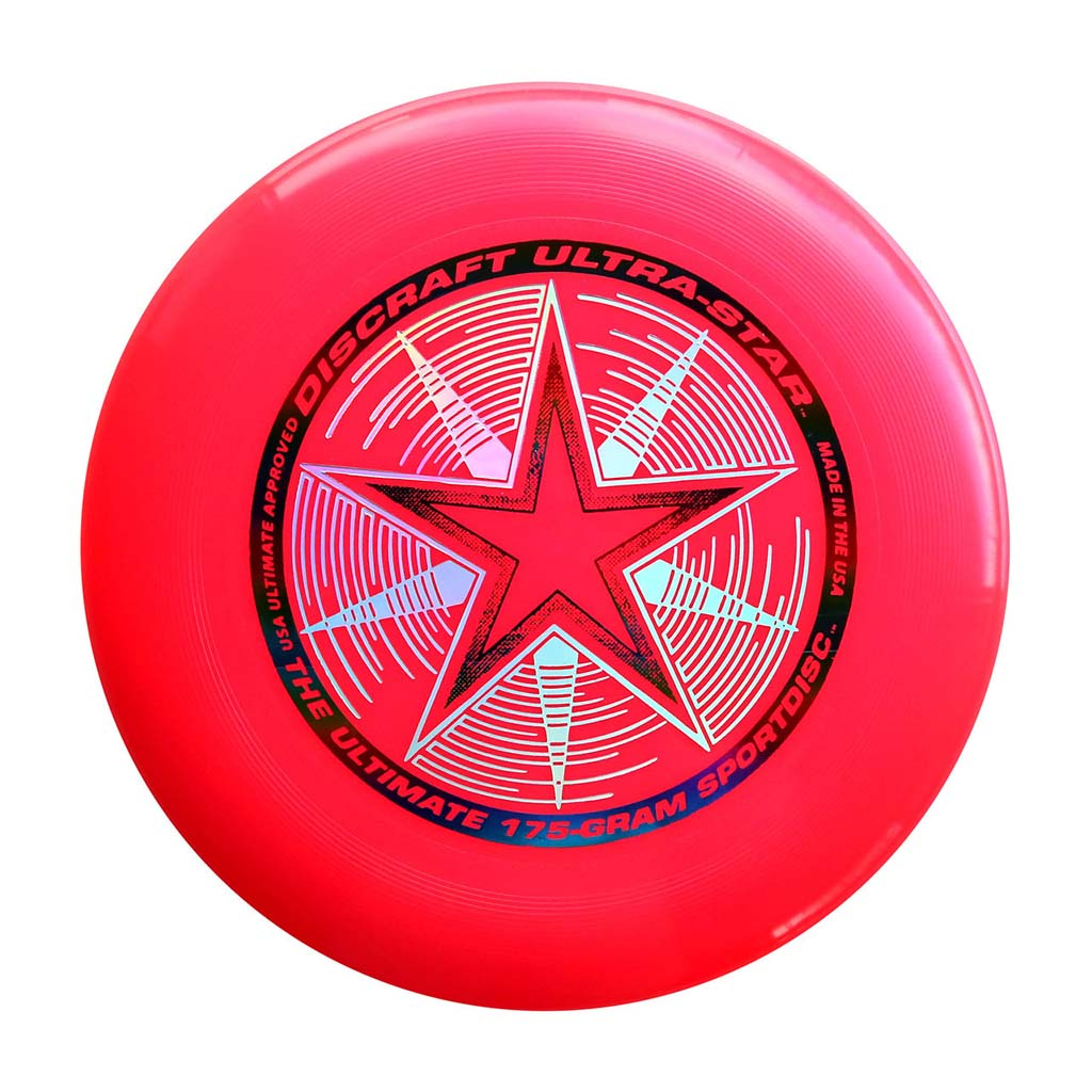 Discraft Ultra-Star 175 g disque Ultimate frisbee rose