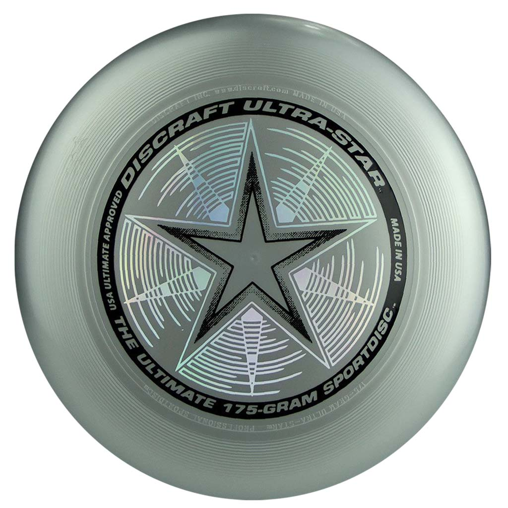 Disque Ultimate frisbee Silver Discraft Ultra-Star 175 g