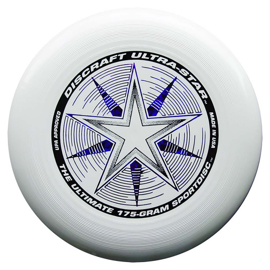 Disque Ultimate frisbee blanc Discraft Ultra-Star 175 g